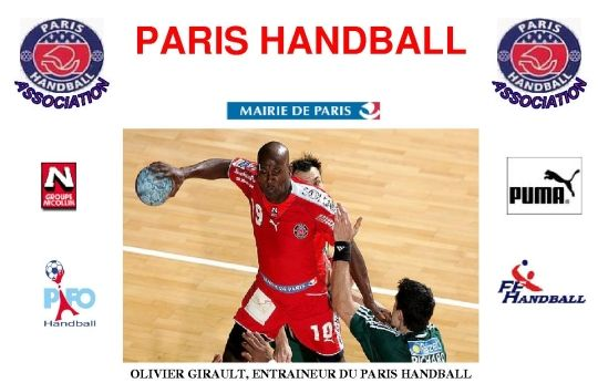 Journée de détection au Paris Handball