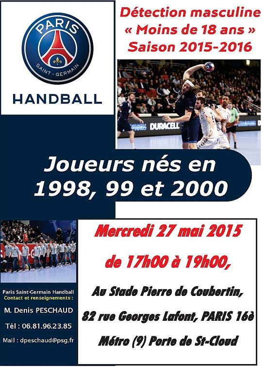 Le Paris Handball recrute