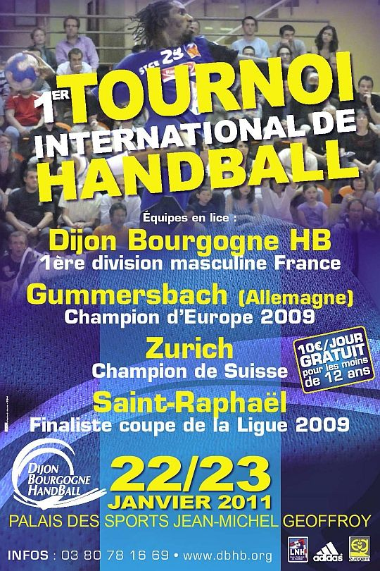 Tournoi international du Dijon Bourgogne handball