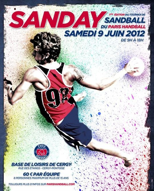 1er tournoi de Sandball du Paris Handball