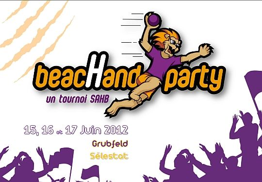 Beachand Party 2012-Sandball de Sélestat les 15, 16 et 17 juin