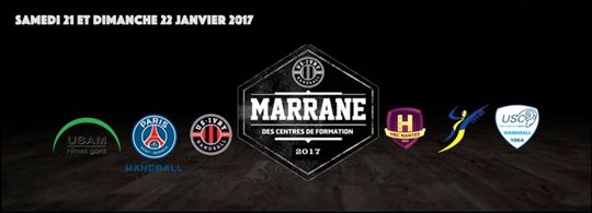 Le Marrane des centres de formation arrive ce week-end !